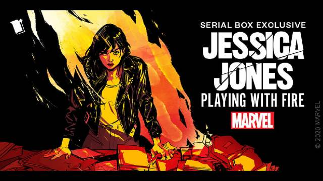 Jessica Jones Playing with Fire, Image Serial Box