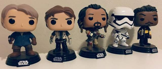 Star Wars Day pop vinyls
