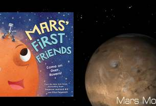 Mars' First Friends Cover Image Sourcebooks, Mars Image NASA copy