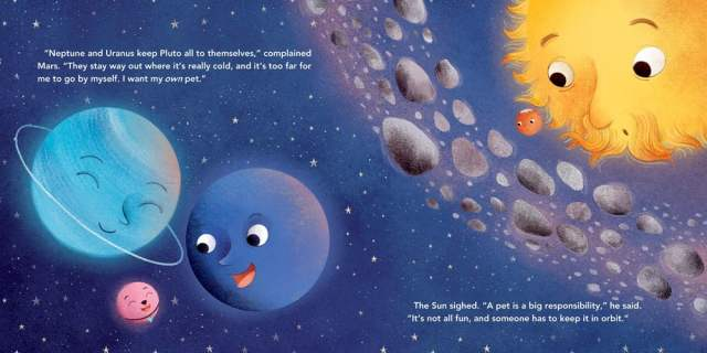 Second Page Spread from Mars' First Friends, Image Sourcebooks