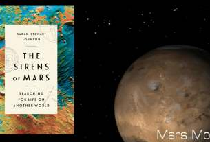 The Sirens of Mars Image Penguin Random House, Background Image NASA
