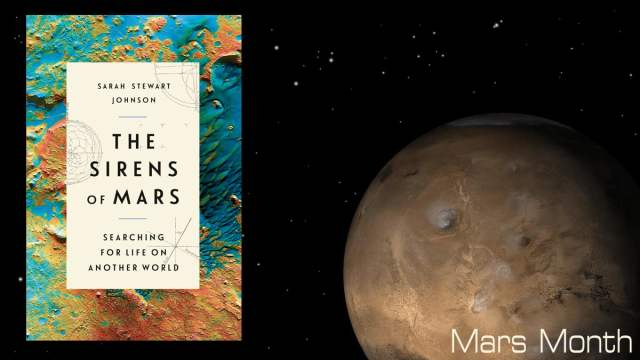 The Sirens of Mars Image Penguin Random House, Background Image NASA