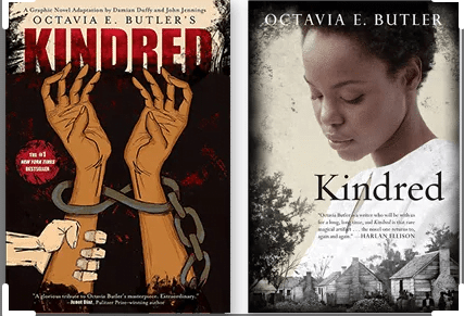 Kindred book covers