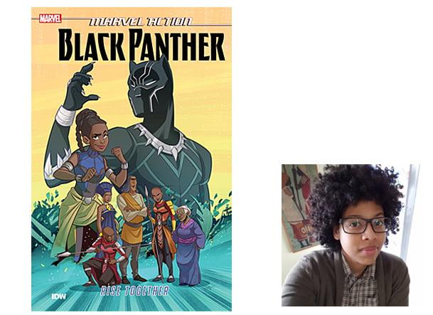 Black Panther Cover, Image IDW, Author Image Vita Ayala