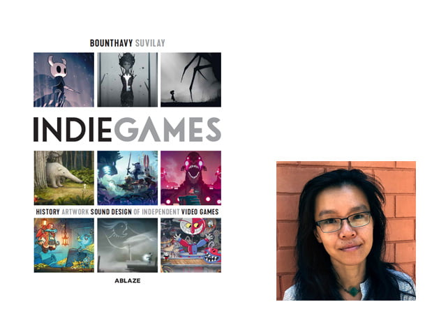 Indie Games Cover, Image Ablaze, Author Image, Bounthavy Suvilay
