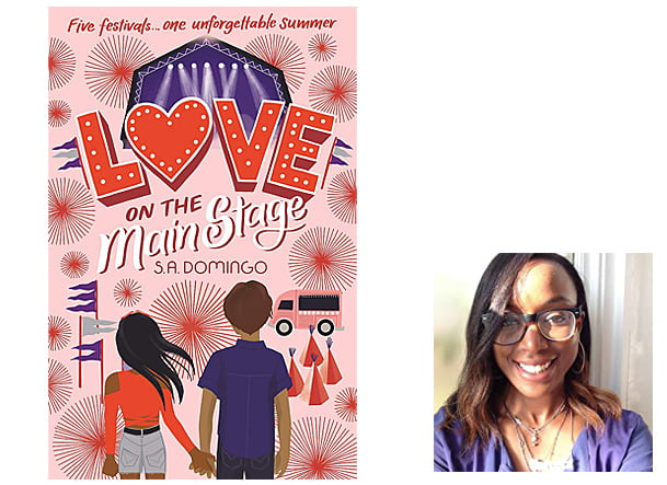 Love on the Main Stage Cover Hodder Children's Books, Author Image S. A. Domingo