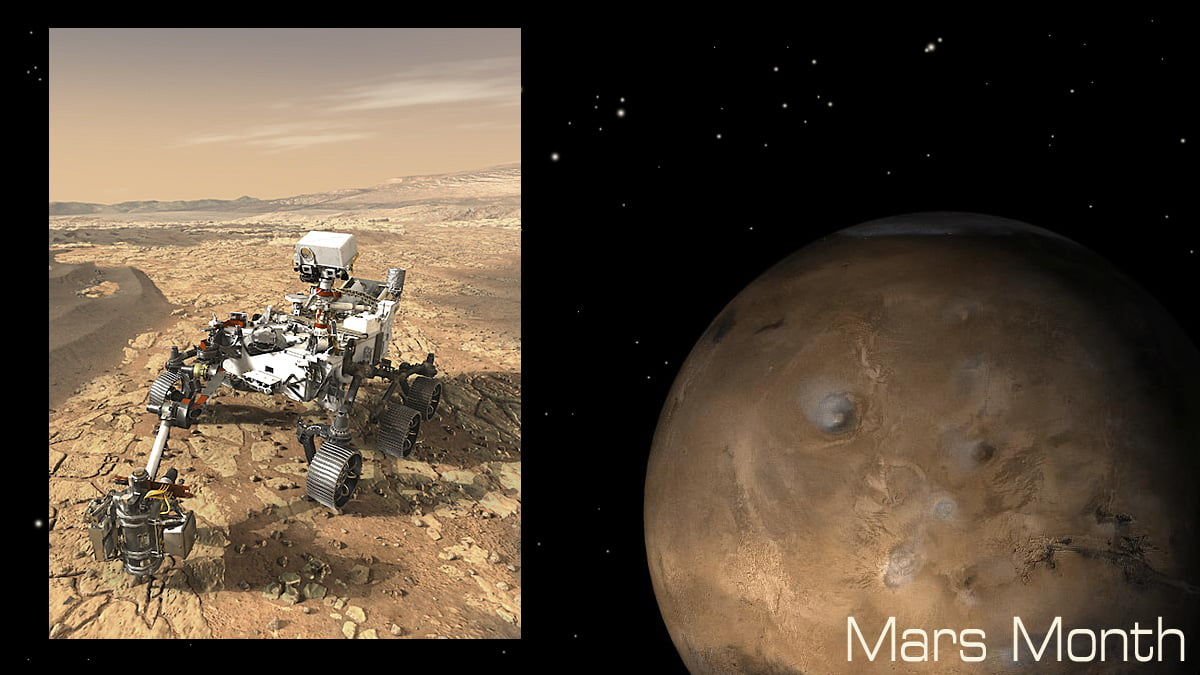 Perseverance and Mars Images, NASA