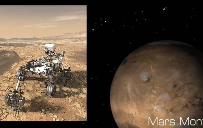 Perseverance and Mars Images, NASA