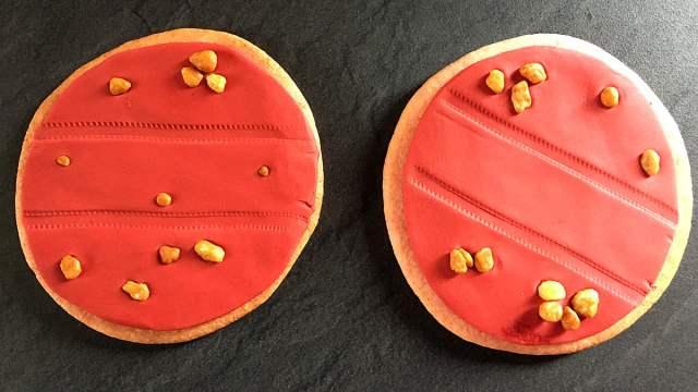 Rover Track Cookies, Image Sophie Brown