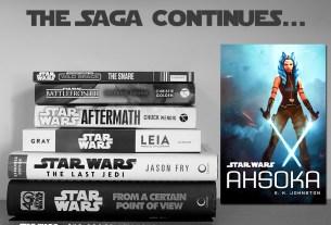 The Saga Continues, Ahsoka, Cover Image Disney Lucasfilm Press