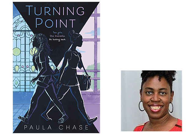 Turning Point Cover Greenwillow Books, Author Image Paula Chase