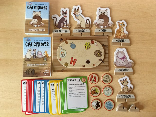 Cat Crimes Components, Image Sophie Brown