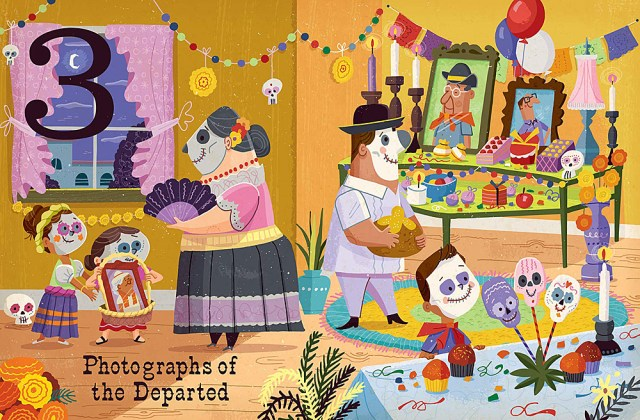 Day of the Dead Page Spread, Image Gibbs Smith