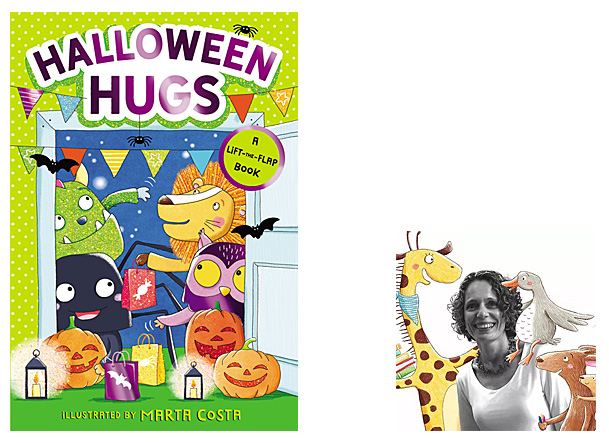 Halloween Hugs, Cover Image HarperCollins, Author Image Marta Costa