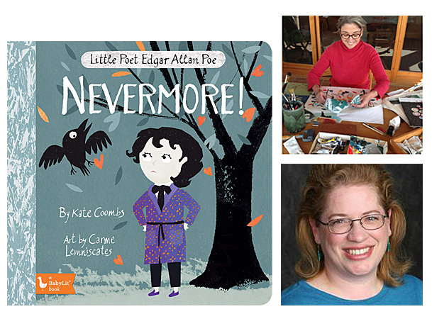 Nevermore Cover Image Gibbs Smith, Author Image Kate Coombs, Illustrator Image Carme Lemniscates