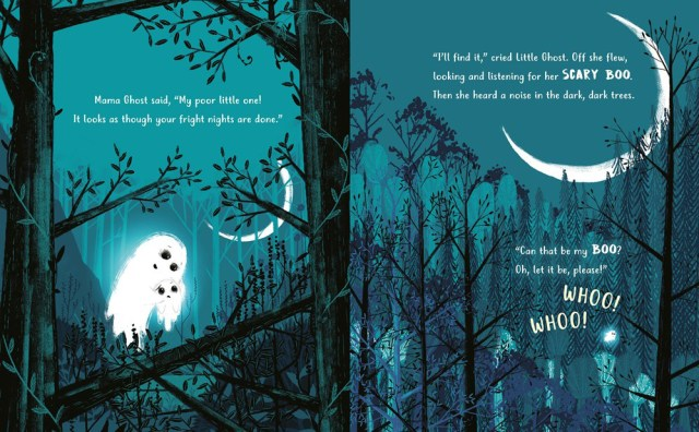 The Little Ghost Who Lost Her Boo Page Spread, Image Philomel Books
