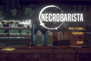 Necrobarista main menu review