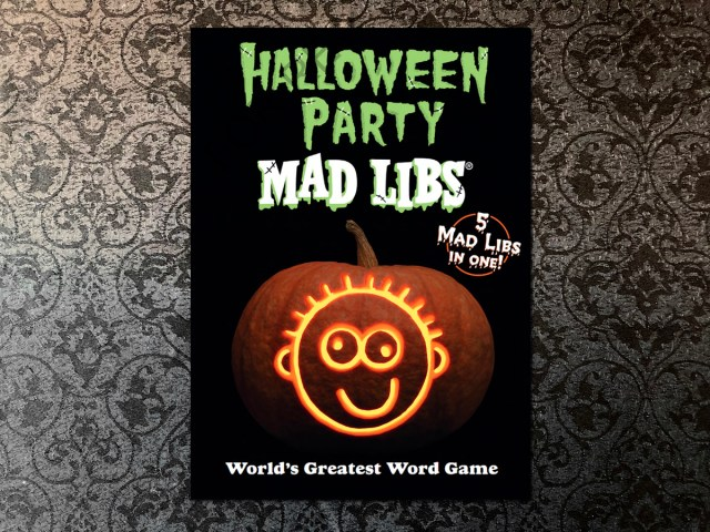 Halloween Party Mad Libs, Image Sophie Brown