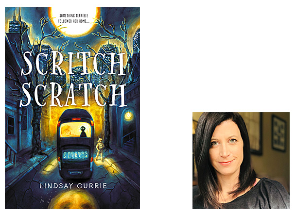 Scritch Scratch Cover ImageSourcebooks Young Readers, Author Image Lindsay Currie