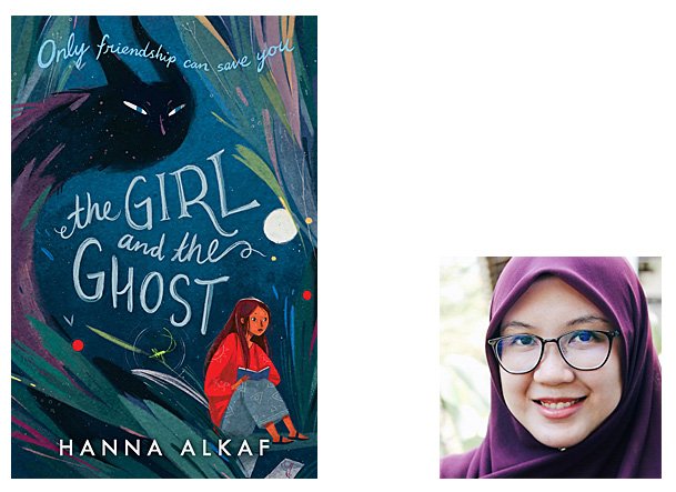 The Girl and the Ghost Cover Image HarperCollins, Author Image Hanna Alkaf