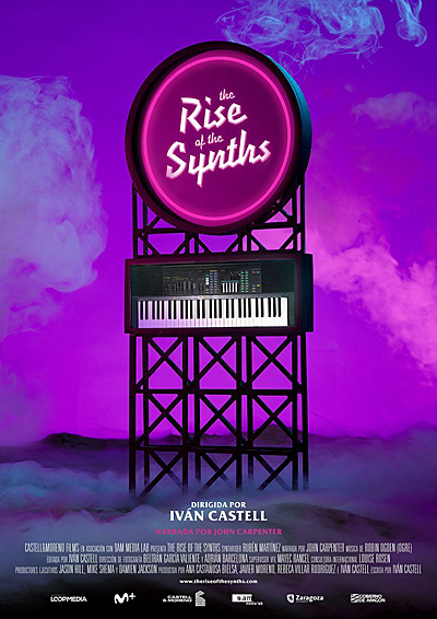 The Rise of the Synths Poster, Image Castell and Moreno