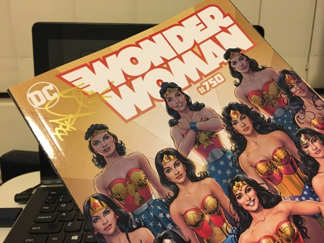 Wonder Woman #750 Giveaway