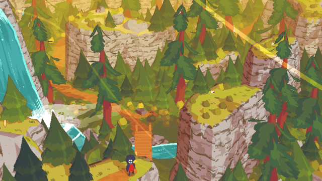 A Short Hike video game for relaxing