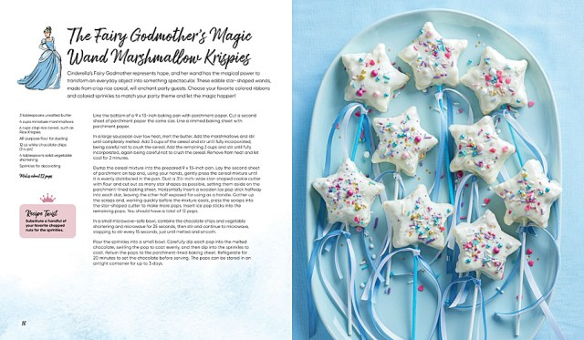 Fairy Godmother Magic Wand Marshmallow Krispies, Image Insight Editions