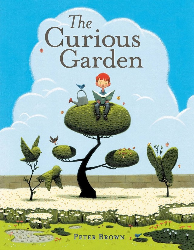 Book Cover: The Curious Garden by Peter Brown