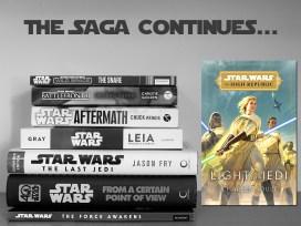 The Saga Continues, Light of the Jedi, Image Del Rey