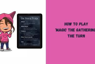 Magic the Gathering The Turn