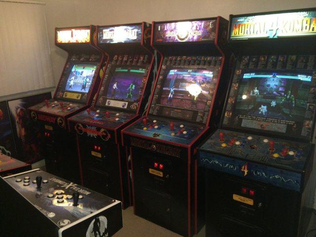 mortal kombat arcade games
