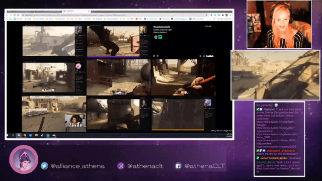 The Athena Alliance CLT's All Woman Call of Duty Event