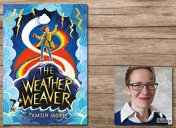 The Weather Weaver Cover Image, Uclan Publishing