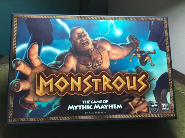 tabletop game Monstrous based on Greek mythology