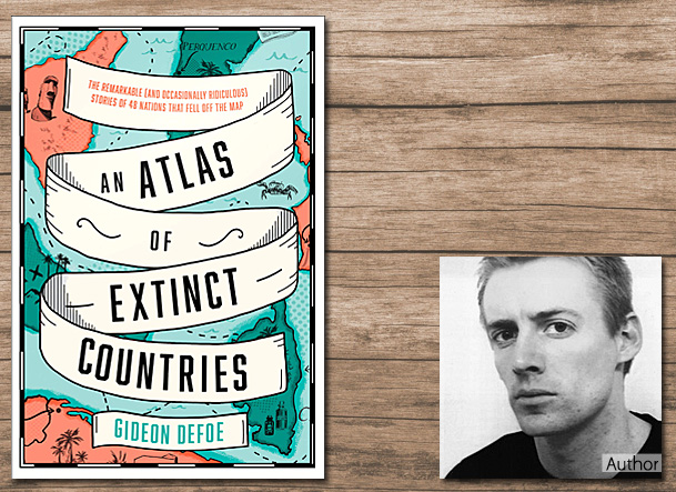 An Atlas of Extinct Countries Cover Image, Fourth Estate