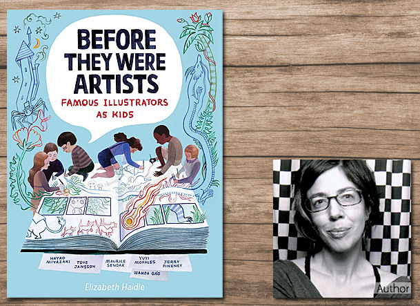 Before They Were Artists, Cover Image Etch HMH Books for Young Readers