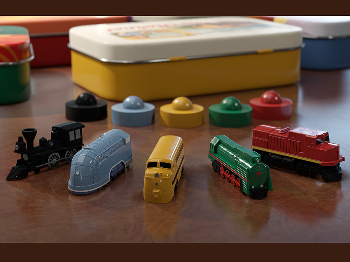 Deluxe Board Game Train Sets, Image The Little Plastic Train Company