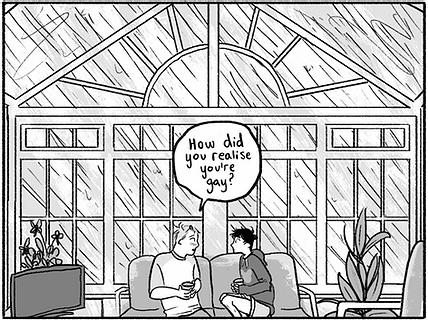 Heartstopper Panel, Image Alice Oseman