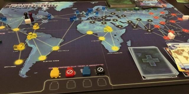 Pandemic, tabletop game