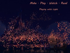 Tangled lantern light