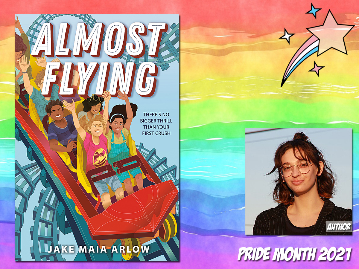 Pride Month - Almost Flying by Jake Maia Arlow