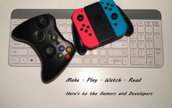 game controllers and keyboard