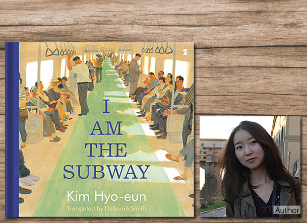 I Am the Subway, Cover Image Scribble