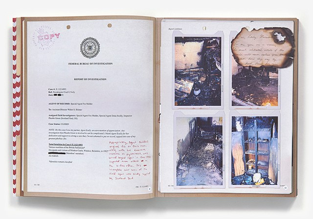 X-Files Official Archives Page Spread