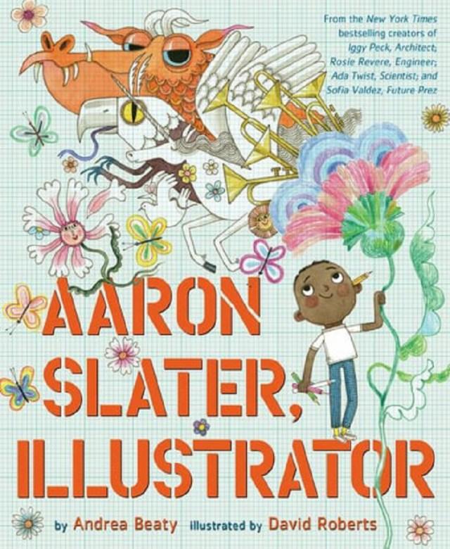 cover of aaron slater, illustrator artist