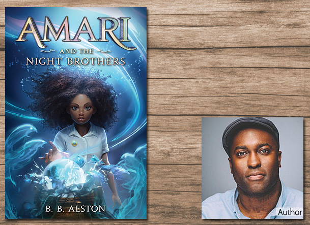 Amari and the Night Brothers Cover Image, Balzer and Bray