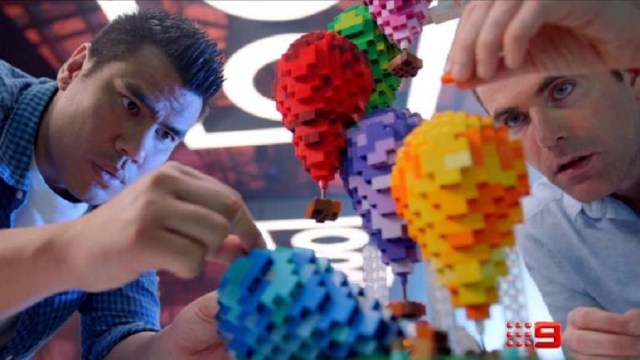 LEGO Masters Australia 2019 Henry and Cade