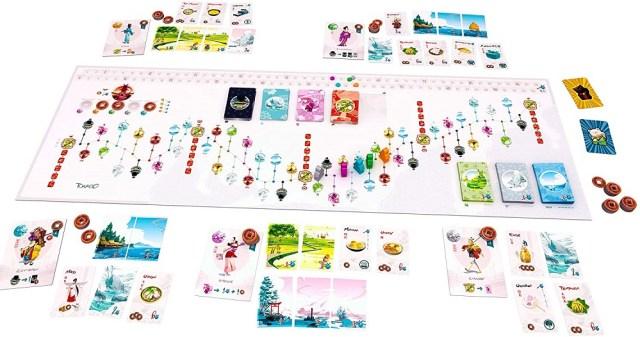 tabletop game Tokaido Japan
