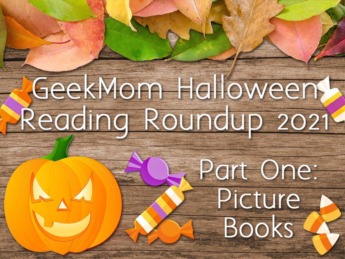 Halloween Reading Roundup Header 2021
